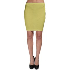 Yellow Fever Bodycon Skirt