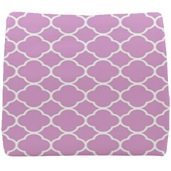 Vintage Tile Pink  Seat Cushion by TimelessDesigns