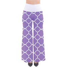 Vintage Tile Purple  So Vintage Palazzo Pants by TimelessFashion