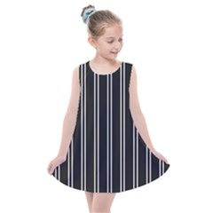 Nice Stripes Black Kids  Summer Dress by TimelessFashion