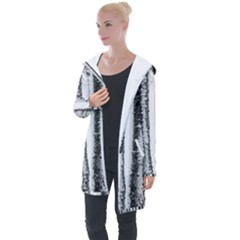 Mother Nature s Birch  Longline Hooded Cardigan by WensdaiAddamns