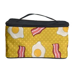 Bacon And Egg Pop Art Pattern Cosmetic Storage