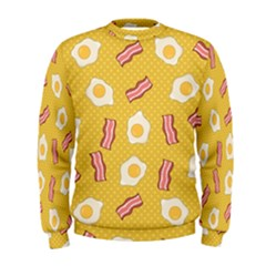 Bacon And Egg Pop Art Pattern Men s Sweatshirt