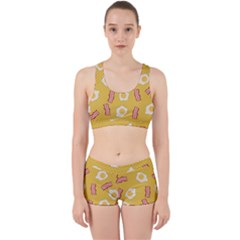 Bacon And Egg Pop Art Pattern Work It Out Gym Set