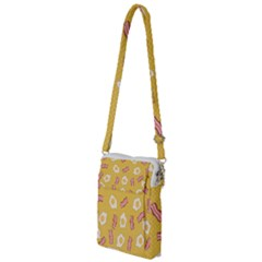 Bacon And Egg Pop Art Pattern Multi Function Travel Bag