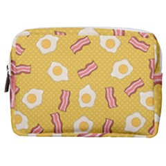 Bacon And Egg Pop Art Pattern Make Up Pouch (medium)