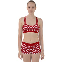 Cute Canada Gym Set Women s Canada Top & Shorts by CanadaSouvenirs