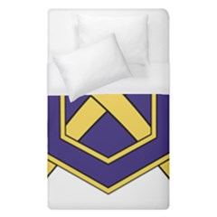 Insignia Of Chemical Corps Of U S  Army Duvet Cover (single Size) by abbeyz71
