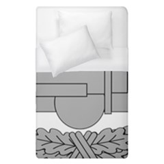 U S  Army Combat Action Badge Duvet Cover (single Size) by abbeyz71
