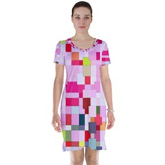 The Framework Paintings Square Short Sleeve Nightdress