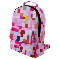 The Framework Paintings Square Flap Pocket Backpack (small)