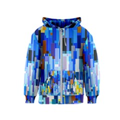 Color Colors Abstract Colorful Kids  Zipper Hoodie
