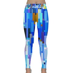 Color Colors Abstract Colorful Classic Yoga Leggings