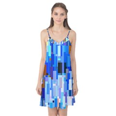 Color Colors Abstract Colorful Camis Nightgown by Pakrebo