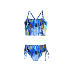 Color Colors Abstract Colorful Girls  Tankini Swimsuit