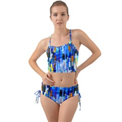 Color Colors Abstract Colorful Mini Tank Bikini Set by Pakrebo