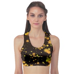 Background Black Blur Colorful Sports Bra by Pakrebo