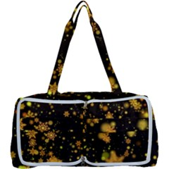 Background Black Blur Colorful Multi Function Bag by Pakrebo