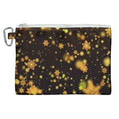 Background Black Blur Colorful Canvas Cosmetic Bag (xl)