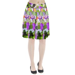 Art Flower Flowers Fabric Fabrics Pleated Skirt