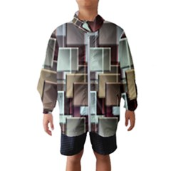 Texture Artwork Mural Murals Art Windbreaker (kids) by Pakrebo