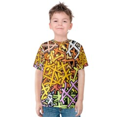 Color Colors Network Networks Kids  Cotton Tee