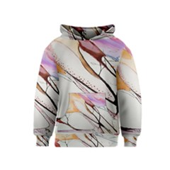 Art Painting Abstract Canvas Kids  Pullover Hoodie