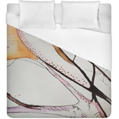 Art Painting Abstract Canvas Duvet Cover (king Size) by Pakrebo