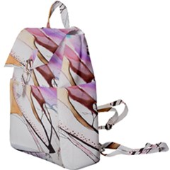 Art Painting Abstract Canvas Buckle Everyday Backpack
