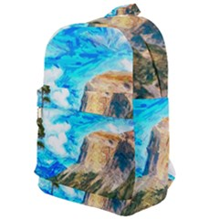 Painting Paintings Mountain Classic Backpack