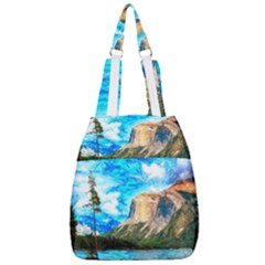 Painting Paintings Mountain Center Zip Backpack
