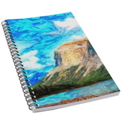 Painting Paintings Mountain 5 5  X 8 5  Notebook by Pakrebo