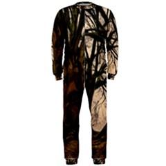 Ent Treant Trees Tree Bark Barks Onepiece Jumpsuit (men)  by Pakrebo