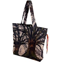 Ent Treant Trees Tree Bark Barks Drawstring Tote Bag