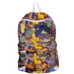 Texture Painting Plot Graffiti Foldable Lightweight Backpack