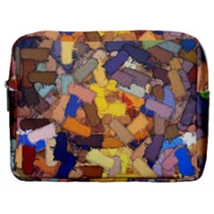 Texture Painting Plot Graffiti Make Up Pouch (large)