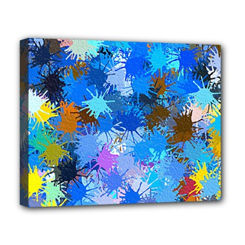 Color Colors Abstract Colorful Deluxe Canvas 20  X 16  (stretched)