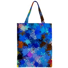 Color Colors Abstract Colorful Zipper Classic Tote Bag