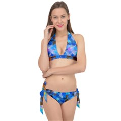 Color Colors Abstract Colorful Tie It Up Bikini Set