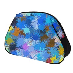 Color Colors Abstract Colorful Full Print Accessory Pouch (small)