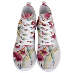Plant Nature Flowers Foliage Men s Lightweight High Top Sneakers by Pakrebo