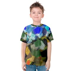 Texture Color Colors Network Kids  Cotton Tee