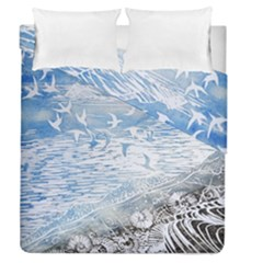 Coast Beach Shell Conch Water Duvet Cover Double Side (queen Size)