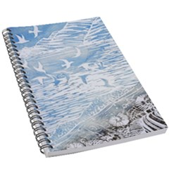 Coast Beach Shell Conch Water 5 5  X 8 5  Notebook