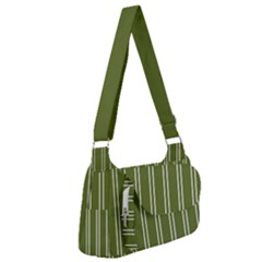 Nice Stripes In Olive Green Post Office Delivery Bag