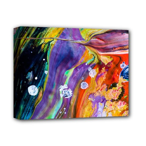 Abstract Modern Detail Color Deluxe Canvas 14  X 11  (stretched)