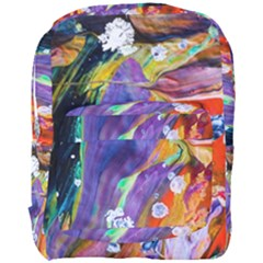 Abstract Modern Detail Color Full Print Backpack