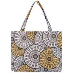 Gears Round Header Banner Cog Mini Tote Bag