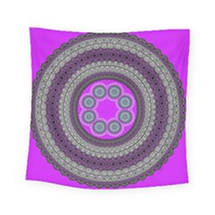 Round Pattern Ethnic Design Square Tapestry (small) by Pakrebo