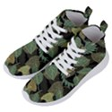 Autumn Fallen Leaves Dried Leaves Women s Lightweight High Top Sneakers View2